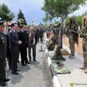 Ο Εορτασμός του Αγίου Γεωργίου στην Κύπρο με επίδειξη Οπλισμού καιΑΡΒΧ!