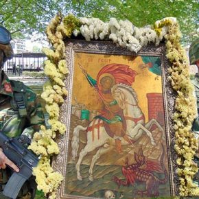 H ΣΜΥ τίμησε τον Προστάτη της …Τον Άγιο Γεώργιο!(Φωτορεπορτάζ)