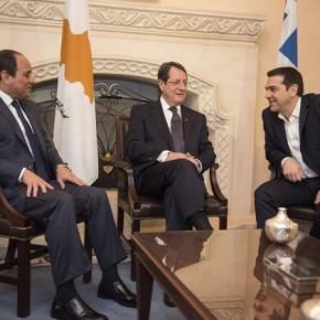 Οι ισραηλινοί στο Καστελόριζο και τριμερής Ελλάδας-Αιγύπτου-Κύπρου στηΛευκωσία
