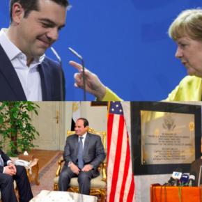 Συνάντηση Μέρκελ-Τσίπρα ,οι σχέσεις με τις ΗΠΑ σε μια κλωστή και το ερώτημαΚαμμένος