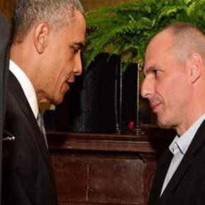 ΦΟΥΝΤΩΝΕΙ Η ΚΟΝΤΡΑ ΚΥΒΕΡΝΗΣΗΣ ΚΑΙ ΕΥΡΩΠΑΙΩΝ ΕΤΑΙΡΩΝ Κυβέρνηση: «Δεν κάνουμε πίσω στους εκβιασμούς των δανειστών» – Γ.Βαρουφάκης: «Ο Μ.Ομπάμα εξέφρασε τη στήριξή του στηνΕλλάδα»