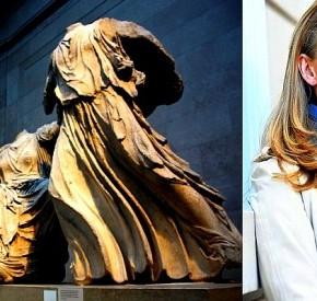 Ντόροθι Κινγκ: «Θέλω τα Ελγίνεια στην Αθήνα, σαν ένα μεσαίο δάχτυλο υψωμένο προς τουςΤζιχαντιστές»