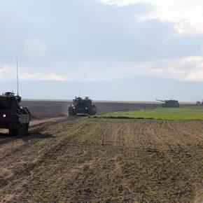 Ασκήσεις & βολές της 55ης Μηχανοκίνητης Τούρκικης Ταξιαρχίας στο «Kırklareli»(εικόνες)