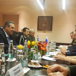 «Παίρνουν μπροστά» τα ρωσικά όπλα στην Ελλάδα – Τι συζήτησε ο Καμμένος με τον ΡώσοΥΠΑΜ