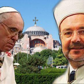 Μουφτής Άγκυρας: Η δήλωση Πάπα επιταχύνει άνοιγμα Αγίας Σοφίας για μουσουλμανικήπροσευχή
