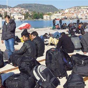 Διυπουργική: «Αμυγδαλέζες» για μετανάστες που… λιάζονται στο Σύνταγμα Γκάφα με διαβατήρια στα… τυφλά σε Σύρους πρόσφυγες   Ανακοίνωσαν μέτρο που θα μας έβγαζε από τη ΣυνθήκηΣένγκεν!