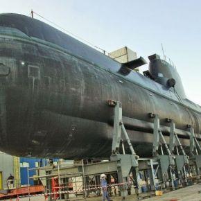 Στα τέλη του ερχόμενου Μαίου η καθέλκυση του υποβρυχίου ΚΑΤΣΩΝΗΣ(S-123)