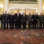 ΥΠΕΘΑ και νέα ηγεσία των ΕΔ στον Πρόεδρο Δημοκρατίας(ΦΩΤΟ)