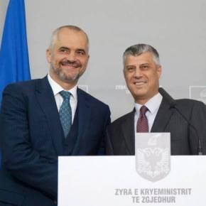 Αλβανικό τόξο στα Βαλκάνια: Ο Ράμα δήλωσε ότι η Αλβανία θα ενσωματώσει τοΚόσσοβο