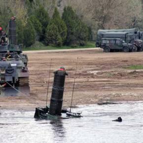 Oι Τούρκοι «κάτι ετοιμάζουν» και εκπαιδεύονται συνεχώς στη διάβαση τουΠοταμού!