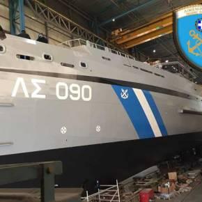 Έτοιμο το νέο περιπολικό ανοικτής θαλάσσης τουΛ.Σ.