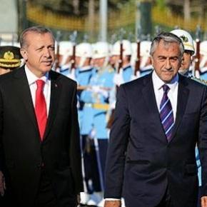 Συνάντηση προέδρου τουρκοκυπρίων με Τούρκοπρόεδρο