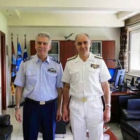 Επίσκεψη Αρχηγού Στόλου στοΑΤΑ