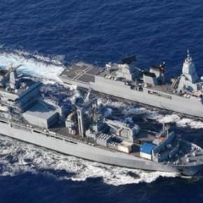 Γερμανικά πολεμικά πλοία στη Σούδα για τις επιχειρήσεις κατά τωνδουλεμπόρων