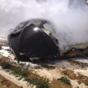 Αεροσκάφος Airbus A400M που προορίζονταν για την Τουρκία συνετρίβη στηνΙσπανία
