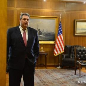 Ακυρώθηκε το ραντεβού Καμμένου με τον αμερικανό υπουργόΆμυνας!