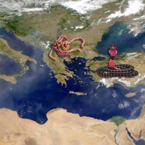 Μεγάλη Αλβανία, Σκόπια, Τουρκία καιΕλλάδα