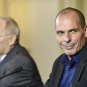 HANDELSBLATT ΜΕΤΑ ΤΙΣ ΦΗΜΕΣ ΓΙΑ ΚΑΤΑΓΡΑΦΗ ΤΟΥ EUROGROUP «Πρόσω ολοταχώς για… Varoufexit! – Με το ένα πόδι στην έξοδο ο υπουργόςΟικονομικών»