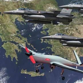 Ενισχύουν με μη επανδρωμένα αεροχήματα οι Τούρκοι την Ανατολική Θράκη και στοχεύουν σεΑιγαίο!
