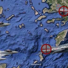 Σκούζουν οι Τούρκοι Χειριστές των F-4 γιατί τα F-16 τους πήραναπο…Πίσω!