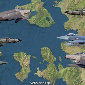 Tραβάνε το σχοινι οι Τούρκοι στο Αιγαίο…Με τους διακόπτες στο «ΟΝ» τα ΕλληνικάF-16