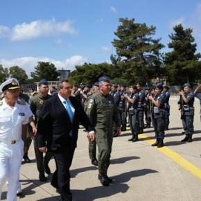 Επίσκεψη ΥΕΘΑ Πάνου Καμμένου σε Μονάδες των Ενόπλων Δυνάμεων στηνΚρήτη