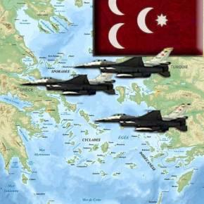 Πάλι με οπλισμένα μαχητικά οι Τούρκοι στο Αιγαίο…οι Ισλαμιστέςέρχονται!