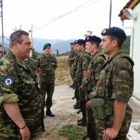 Γιατί ανοίγει φυλάκια στα ελληνοαλβανικά σύνορα οΚαμμένος