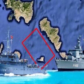 Άσχημη η κατάσταση στο Αιγαίο: 40 παραβιάσεις σε 30 ώρες και τουρκικό πολεμικό αμφισβητεί τα ελληνικά δικαιώματα στηνΆνδρο!
