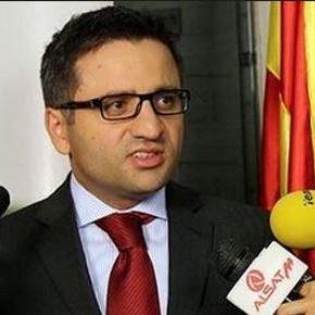 Ο Αναπληρωτής πρωθυπουργός Σκοπίων σήμερα στηνΑθήνα