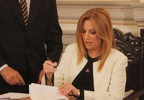 Φώφη Γεννηματά, η νέα πρόεδρος τουΠΑΣΟΚ
