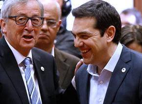 Αυξάνει συνεχώς η πίεση προς την Αθήνα για άμεση συμφωνία Δύο ώρες διήρκεσε η συνάντησή του Τσίπρα- Γιούνκερ στις Βρυξέλλες – Εργαζόμαστε για συμφωνία που θα φέρει την ανάκαμψη της Ελλάδας δήλωσε οΠρωθυπουργός