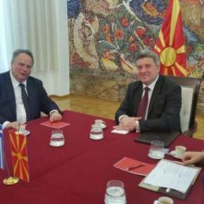 Επίσκεψη Κοτζιά: Έντεκα μέτρα εμπιστοσύνης μεταξύ Ελλάδας-πΓΔΜ