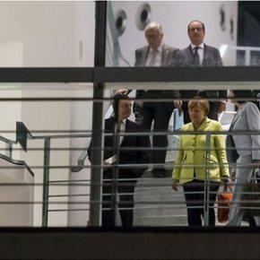 Εντατικοποίηση των διαπραγματεύσεων ζήτησαν οι δανειστές από την Αθήνα Η πενταμερής του Βερολίνου διεμήνυσε στην Ελλάδα ότι δεν μπορεί να υπάρξει συμφωνία χωρίς πολιτικό κόστος | Ανυποχώρητοι στοασφαλιστικό