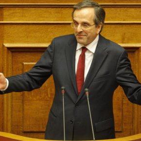Σαμαράς προς Τσίπρα στη Βουλή: «Προσέξτε μην γίνετε ο μοιραίος άνθρωπος για τηχώρα»