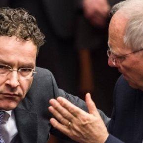 Σόιμπλε – Ντάισελμπλουμ: Αδιανόητη μια λύση για την Ελλάδα χωρίς συμμετοχή του ΔΝΤ Το ΔΝΤ απέστειλε ένα σοβαρό μήνυμα στην Ελλάδα να εντατικοποιήσει τις προσπάθειές της στο πρόγραμμα βοήθειας με τους διεθνές δανειστέςτης,