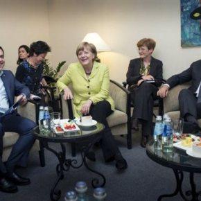 Νέα συνάντηση Τσίπρα με Μέρκελ και Ολάντ στο περιθώριο της Συνόδου Κορυφής την Τετάρτη Σε πολύ καλό κλίμα η τηλεδιάσκεψη το Βράδυ τουΣαββάτου