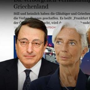 Το ΔΝΤ Τινάζει Σκόπιμα τη Συμφωνία στον Αέρα – Θέλει την ΕλλάδαΝεκρή…