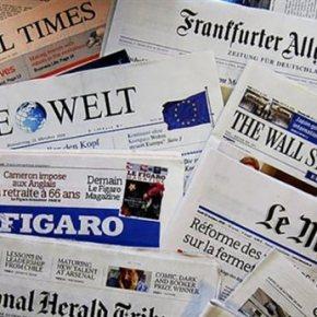 Πρώτο θέμα στον διεθνή Τύπο οι κλειστές τράπεζες στην Ελλάδα Το όριο των αναλήψεων και οι ισχυρές πιέσεις που δέχεται το ευρώ στοεπίκεντρο