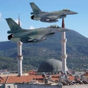 «Εισβολή» 10 τουρκικών F-16 απο Βορρά & Νότο… Αλλά Αχμέτ δεν ήξερες, δενρώταγες;