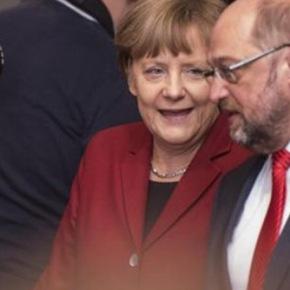 Έκκληση στον Αλέξη Τσίπρα «να πιάσει το χέρι που του απλώνει η Ευρώπη»Σουλτς: Με την Μέρκελ θα κάνουμε τα πάντα για να παραμείνει η Ελλάδα στοευρώ