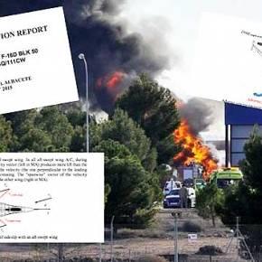 ALERT – Πτώση Ελληνικού F-16 στην Ισπανία – Όλο τοπόρισμα