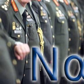 65 ανώτεροι και ανώτατοι απόστρατοι λένε«ΝΑΙ»