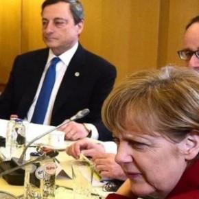 ΜΕ ΚΟΜΜΕΝΗ ΤΗΝ ΑΝΑΣΑ Η ΕΛΛΑΔΑ: Σε λίγη ώρα η κρίσιμη συνάντηση Μέρκελ, Ολάντ στο Παρίσι – Εν αναμονή της απόφασης Ντράγκι για τονELA