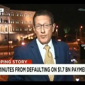 ΕΦΙΑΛΤΙΚΗ ΕΙΚΟΝΑ ΣΤΟ CNN! H ώρα 00.00 έφτασε – Η Ελλάδαχρεοκόπησε