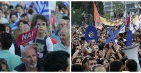 GPO: Οριακή διαφορά μεταξύ ΝΑΙ και ΟΧΙ για τοΔημοψήψισμα!!!