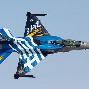 F-16 Demo Team «Ζευς» – Οι βροντές των κεραυνών του Δία στο RIAT2015