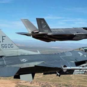 To στέλθ F-35 χάνει όλες τις αερομαχίες με το γέρικο F-16!