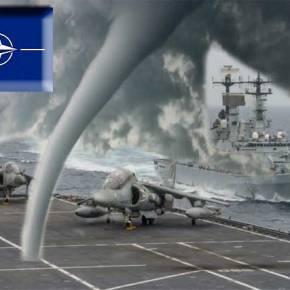 O Τυφώνας του ΝΑΤΟ χτυπά τη Μεσόγειο !…»Η ώρα της Προφητείας;»