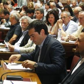 Οι βουλευτές του ΣΥΡΙΖΑ απέναντι στηνΙστορία